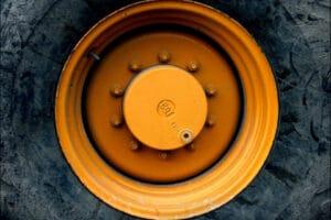 Nutzfahrzeug mit beschichteter Metalloberfläche