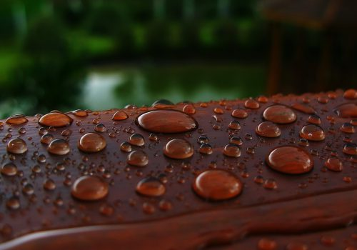 Water drops on surface (20)